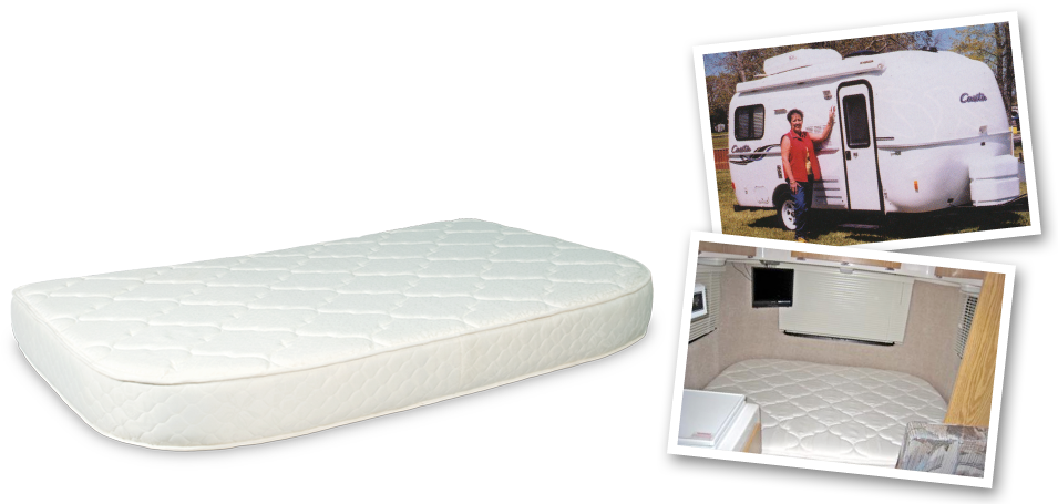 Secialty Mattresses_Casita Travel Trailer